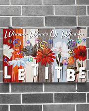 Hippie Let It Be 17x11 Poster poster-landscape-17x11-lifestyle-18