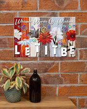 Hippie Let It Be 17x11 Poster poster-landscape-17x11-lifestyle-23