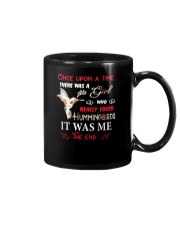 A Girl Love Hummingbirds Mug thumbnail