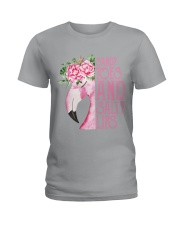 For Flamingo Lovers Ladies T-Shirt thumbnail