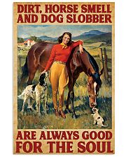 Horse And Dog 11x17 Poster front