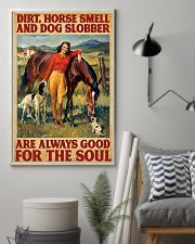 Horse And Dog 11x17 Poster lifestyle-poster-1