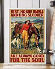 Horse And Dog 11x17 Poster lifestyle-poster-4