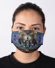 Native Wolf Cloth face mask aos-face-mask-lifestyle-01