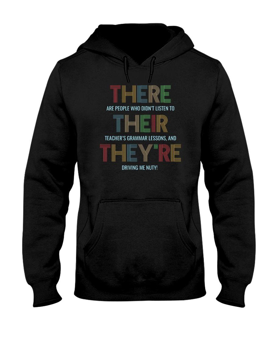 For Teachers Hooded Sweatshirt