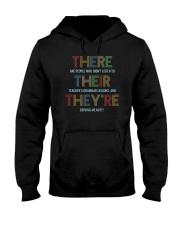 For Teachers Hooded Sweatshirt front
