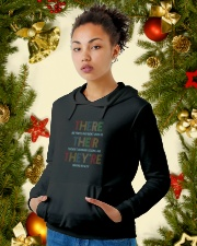 For Teachers Hooded Sweatshirt lifestyle-holiday-hoodie-front-4