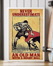 Old Man With Rugby Ball 11x17 Poster lifestyle-poster-4