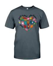 Just A Girl Who Loves Yarn Classic T-Shirt tile