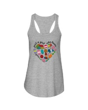 Just A Girl Who Loves Yarn Ladies Flowy Tank thumbnail