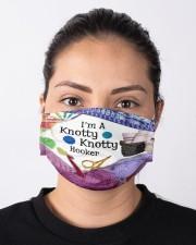 I'm A Knotty Knotty Hooker Cloth face mask aos-face-mask-lifestyle-01