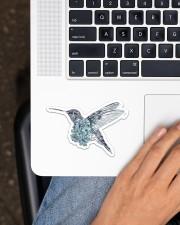 Hummingbird Sticker - Single (Horizontal) aos-sticker-single-horizontal-lifestyle-front-11