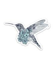 Hummingbird Sticker - Single (Horizontal) front