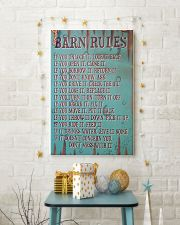Barn Rules Poster 11x17 Poster lifestyle-holiday-poster-3