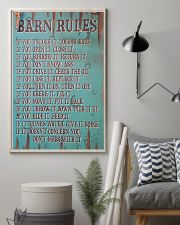Barn Rules Poster 11x17 Poster lifestyle-poster-1