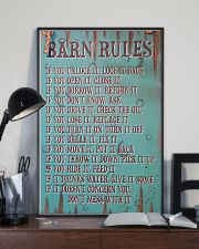 Barn Rules Poster 11x17 Poster lifestyle-poster-2