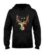 For Quilters Hooded Sweatshirt front