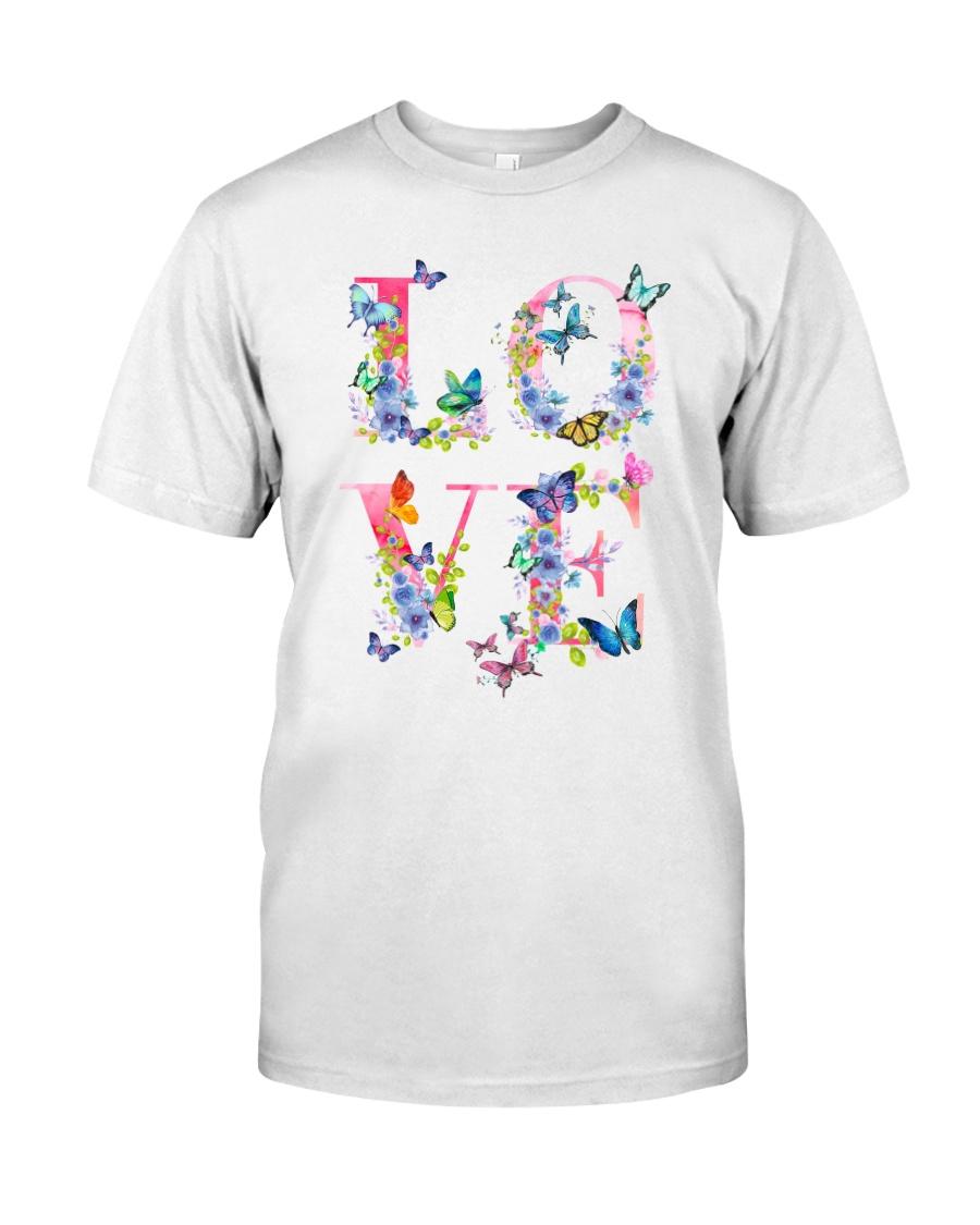 Love Butterflies Classic T-Shirt