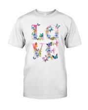 Love Butterflies Classic T-Shirt front