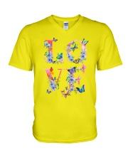 Love Butterflies V-Neck T-Shirt thumbnail