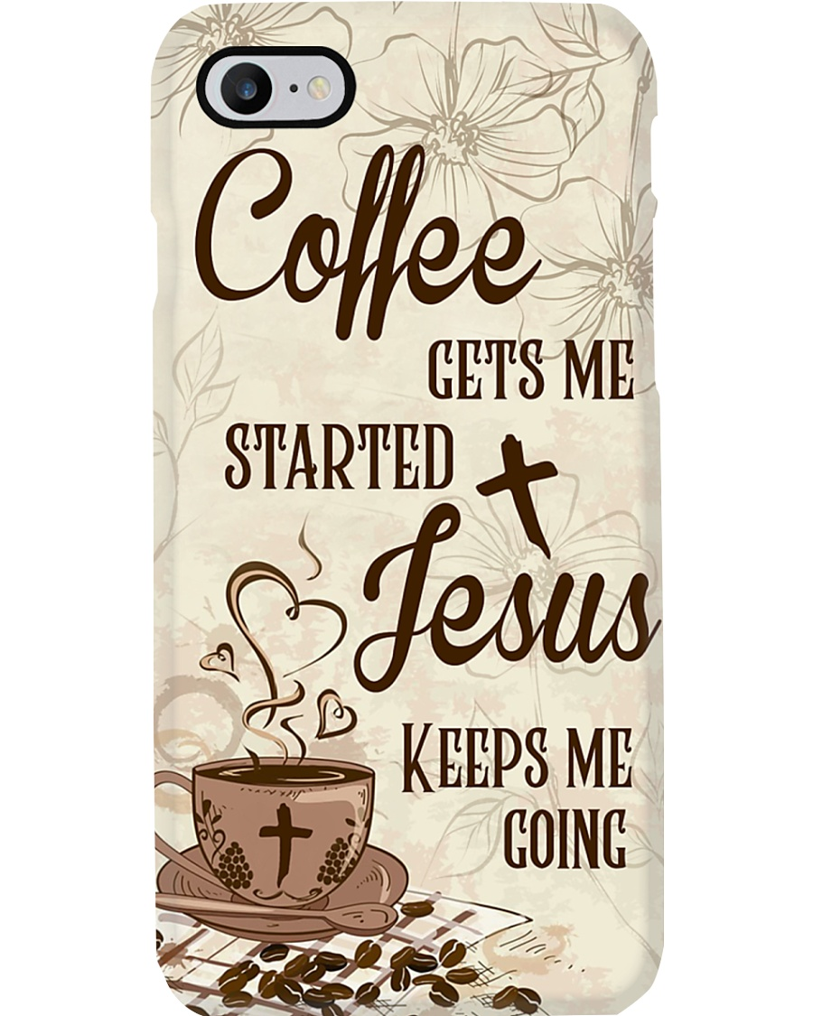 Jesus Coffee Phone Case