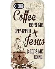 Jesus Coffee Phone Case i-phone-7-case