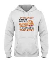 For Pogona Lovers Hooded Sweatshirt front