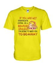 For Pogona Lovers V-Neck T-Shirt thumbnail