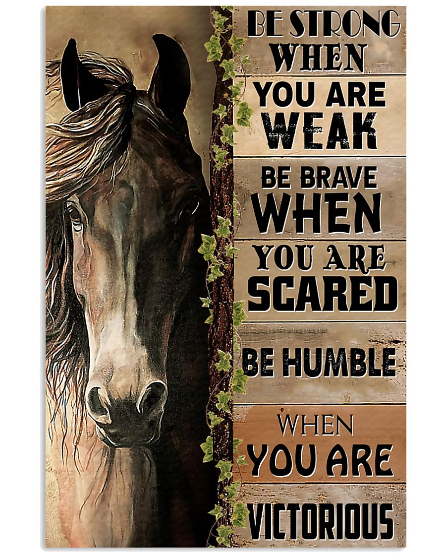 Horse Be Strong 11x17 Poster