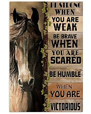 Horse Be Strong 11x17 Poster front