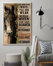 Horse Be Strong 11x17 Poster lifestyle-poster-1