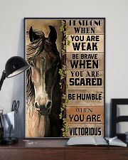 Horse Be Strong 11x17 Poster lifestyle-poster-2