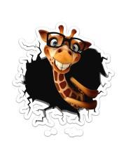 Giraffe  Sticker - Single (Vertical) front