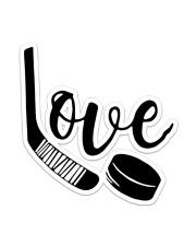 Love Hockey  Sticker - Single (Vertical) front