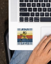 Baseball Jesus Save Sticker - Single (Vertical) aos-sticker-single-vertical-lifestyle-front-11