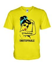 For Radiology Girls V-Neck T-Shirt thumbnail