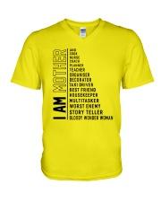 I Am Mother V-Neck T-Shirt thumbnail