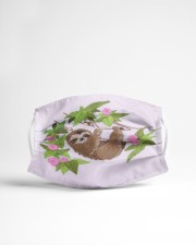 For Sloth Lovers Cloth face mask aos-face-mask-lifestyle-22