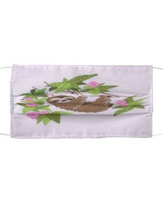 For Sloth Lovers Cloth face mask front
