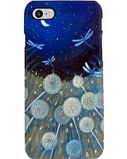 Dragonflies And Dandelion PC Phone Case i-phone-7-case