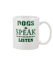 Dog Do Speak Mug thumbnail