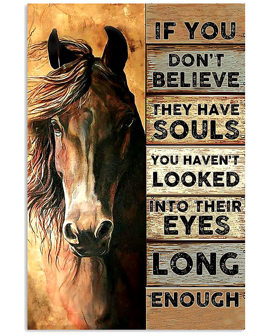 Horse They Have Souls 11x17 Poster