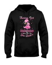 Flamingo Girl Hooded Sweatshirt thumbnail