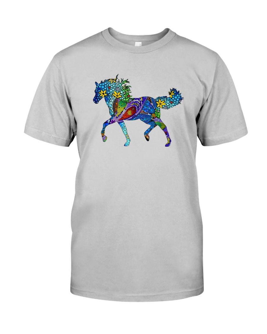 Mosaic Horse Classic T-Shirt