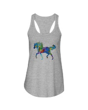 Mosaic Horse Ladies Flowy Tank thumbnail