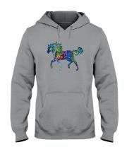 Mosaic Horse Hooded Sweatshirt thumbnail