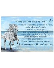 Horse When On This Ride Called Life 17x11 Poster front