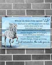 Horse When On This Ride Called Life 17x11 Poster poster-landscape-17x11-lifestyle-18