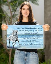 Horse When On This Ride Called Life 17x11 Poster poster-landscape-17x11-lifestyle-19