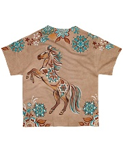 For Horse Lovers All-over T-Shirt back